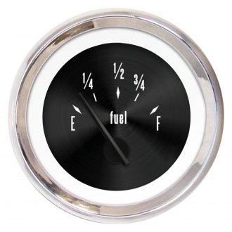 Aurora Instruments® - American Classic Black Fuel Level Gauge