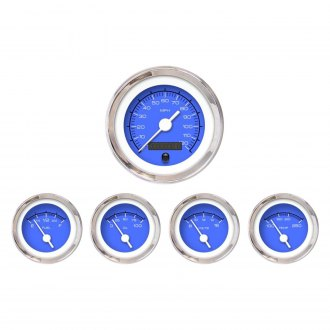 Aurora Instruments® - Competition Blue Gauges