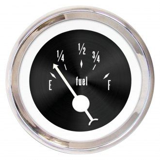 Aurora Instruments® - American Classic Black III Fuel Level Gauge