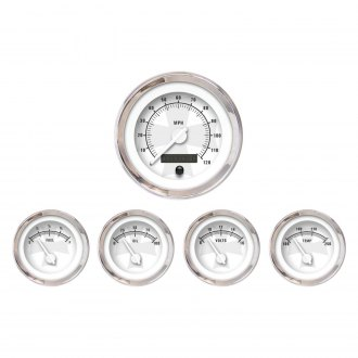 Aurora Instruments® - Iron Cross White and Ash Gauges