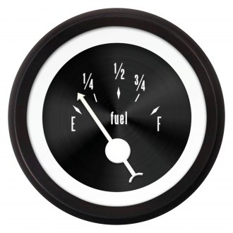 Aurora Instruments® - American Classic Black IV Fuel Level Gauge