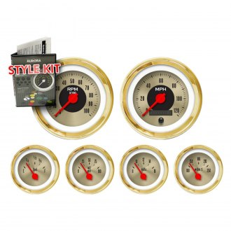 Aurora Instruments® - American Classic V Series Gauge Style Kits