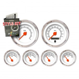 Aurora Instruments® - American Classic White Gauge Style Kits