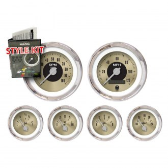 Aurora Instruments® - American Classic II Series Gauge Style Kits