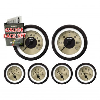 Aurora Instruments® - American Classic VII Series Gauge Face Kit