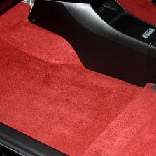 Auto Custom Carpets® - Red Molded Flooring