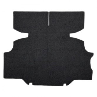 Auto Custom Carpets® - Die Cut Black Cutpile Rear Area Carpet with Mass Backing