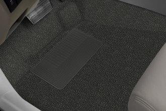 Auto Custom Carpets 1st Row Black Vinyl Flooring