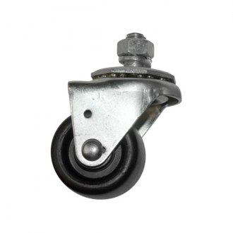 Auto Dolly® - 2 Stud Mount Swivel Polyolefin Caster