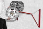 Auto Dolly® - Adjustable Wheel Storage Rack
