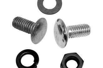 Auto Metal Direct® - Front Bumper Bolt Set