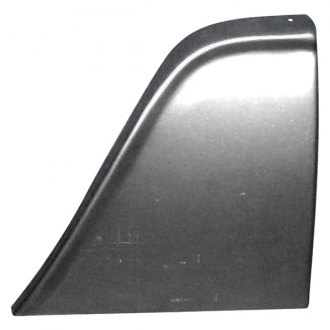 Auto Metal Direct® - TriPlus™ Front Passenger Side Lower Fender Patch Rear Section