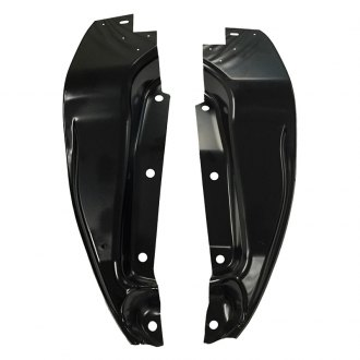 Auto Metal Direct® - Front Driver and Passenger Side Fender Splash Shields