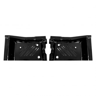 Auto Metal Direct® - Rear Driver and Passenger Side Floor Pan Patch Section Set