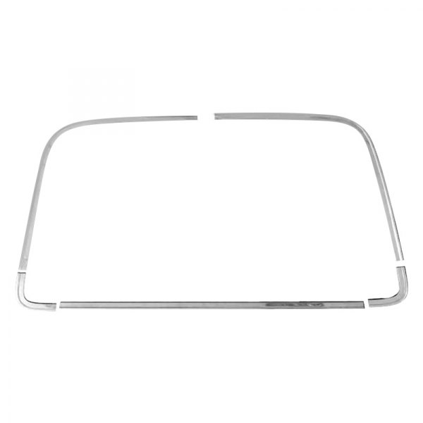 Auto Metal Direct® - Back Glass Molding Set