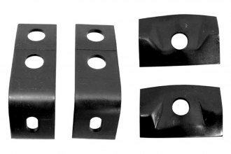 Auto Metal Direct® - Rear Bumper Guard Bracket Set