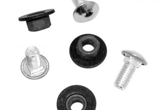 Auto Metal Direct® - Rear Bumper Bolt Set