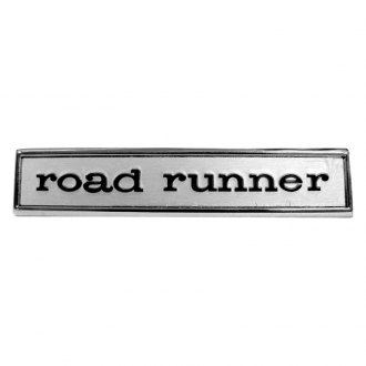 "Auto Metal Direct® - ""Road Runner"" Driver Side Door / Tail Panel Emblem"