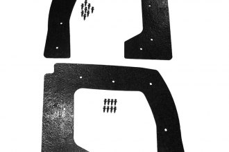 Auto Metal Direct® A-150925 - Southwest Reproductions™ Front Driver and Passenger Side Fender to Body Seals