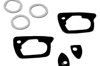 Auto Metal Direct® - Southwest Reproductions™ Door Handle/Lock Gasket Set
