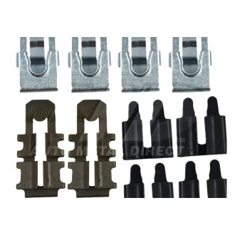Auto Metal Direct® - Southwest Reproductions™ Door Latch and Lock Clip Set