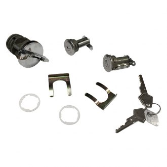 Auto Metal Direct® - Southwest Reproductions™ Ignition and Door Lock Set