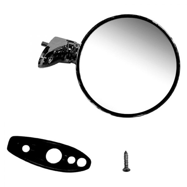 Auto Metal Direct® - Passenger Side Manual View Mirror