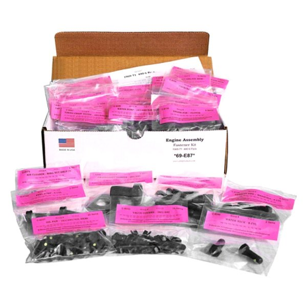Auto Metal Direct® - AMK™ Master Chassis Hardware Kit