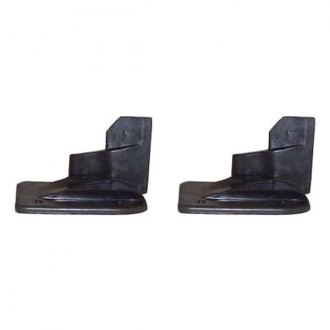 Auto Metal Direct® - SoffSeal™ Driver and Passenger Side Door Jamb Rubber U-Seal