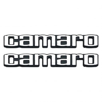 "Auto Metal Direct® - OER™ ""Camaro"" Door Panel Emblems"