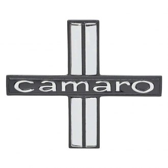 "Auto Metal Direct® - OER™ ""Camaro"" Driver and Passenger Side Door Panel Emblems"