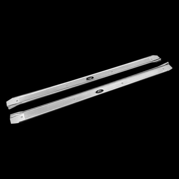 Auto Metal Direct® - OPGI™ Driver and Passenger Side Door Sill Plates & Auto Metal Direct® - Door Sill Plates