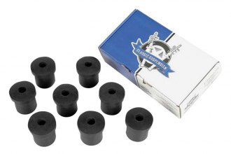 Auto Metal Direct® - CHQ™ Rear Leaf Spring and Shackle Bushing Kit