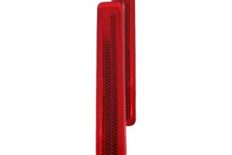 Auto Metal Direct® - Trim Parts™ Left and Right Tail Lamp Lens Reflector
