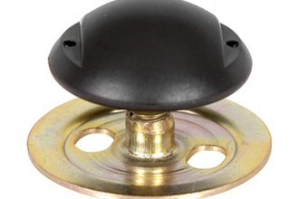 Auto Metal Direct® - CHQ™ Rear Door Glass Plate Stop Mount and Nut