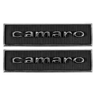 "Auto Metal Direct® - CHQ™ ""Camaro"" Door Panel Emblems"
