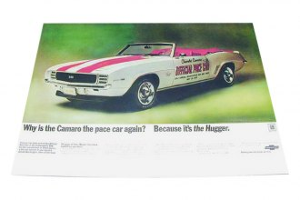 Auto Metal Direct® - CHQ™ Pace Car Poster