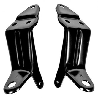 Auto Metal Direct® - CHQ™ Driver and Passenger Side Headlamp Bellcrank Support Bracket