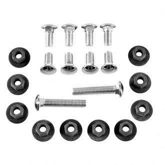 Auto Metal Direct® - CHQ™ Front and Rear Bumper Bolt and Nut