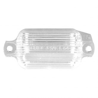 Auto Metal Direct® - License Lamp Lenses