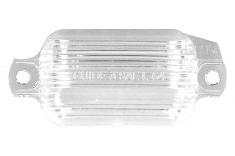Auto Metal Direct® - CHQ™ License Plate Light Lens