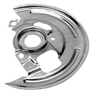 Auto Metal Direct® - CHQ™ Driver and Passenger Side Disc Brake Backing Plates
