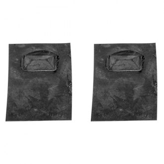 Auto Metal Direct® - CHQ™ Rear Driver and Passenger Side Rocker Panel Drain Flap Set