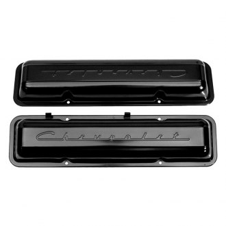Auto Metal Direct® - Paintable Script Valve Covers