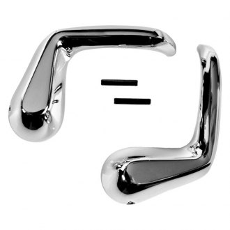 Auto Metal Direct® - CHQ™ Driver and Passenger Side Vent Window Handles