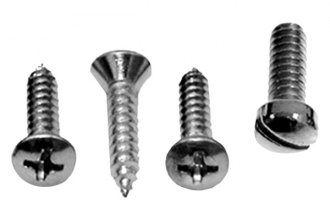 Auto Metal Direct® - CHQ™ Sunvisor support Screw Set