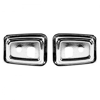 Auto Metal Direct® - CHQ™ Driver and Passenger Side Door Grab Handle Bezel Set