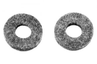 Auto Metal Direct® - CHQ™ Clutch Bellcrank Felt Seal, Pair