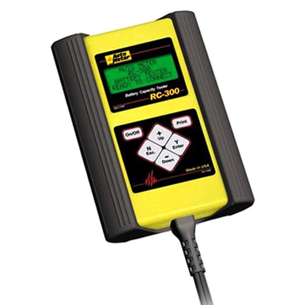 Auto Meter Battery Testers : Auto meter rc technician grade intelligent handheld