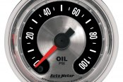 "Auto Meter® - American Muscle™ 2-1/16"" Full Sweep Electric Oil Pressure Gauge, 0 - 100 psi"